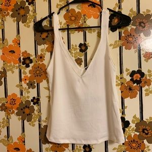 Zara white tank top new with tags